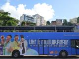 Bloco As Muquiranas divulga Carnaval 2016 no Salvador Bus