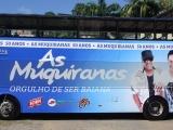 Bloco As Muquiranas estampa nova campanha do Salvador Bus