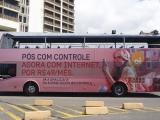 Campanha da Oi no Salvador Bus tem Tatá Werneck como garota propaganda