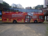 Salvador Bus estampa campanha da Nova Schin em homenagem a Copa