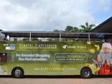 Salvador Shopping divulga campanha de natal no Salvador Bus