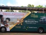 Salvador Shopping estampa campanha de fim de ano no Salvador Bus